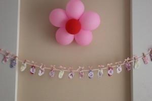 Flower Themed Baby Shower