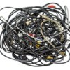 pile of electronics cords and cables