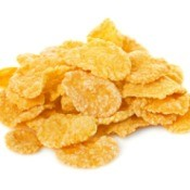 pile of corn flakes