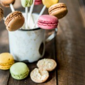 macaroons on a stick