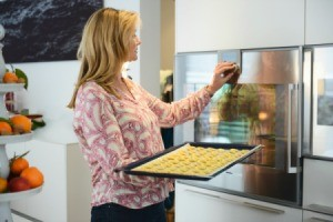 Woman in Home-Based Baking Business