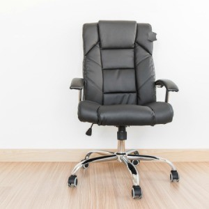 Office Chair on Wood Floor