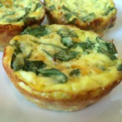 Muffin Tin Spinach Frittatas
