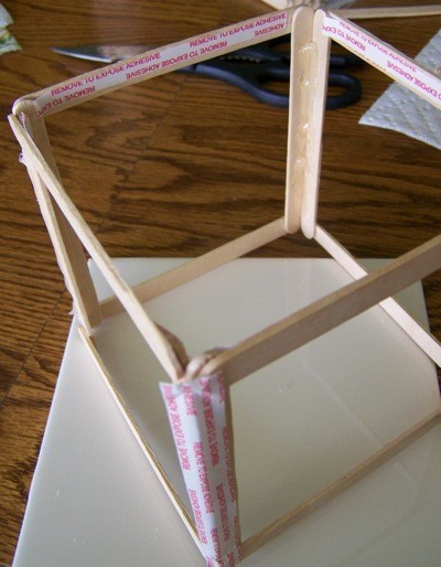 craft stick frame