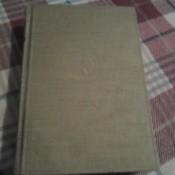 single volume on plaid table cloth