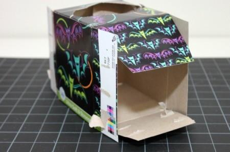 flattening tissue box
