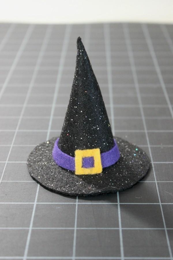 Mini Felt Witch Hat. Supplies  13e2dcd4705