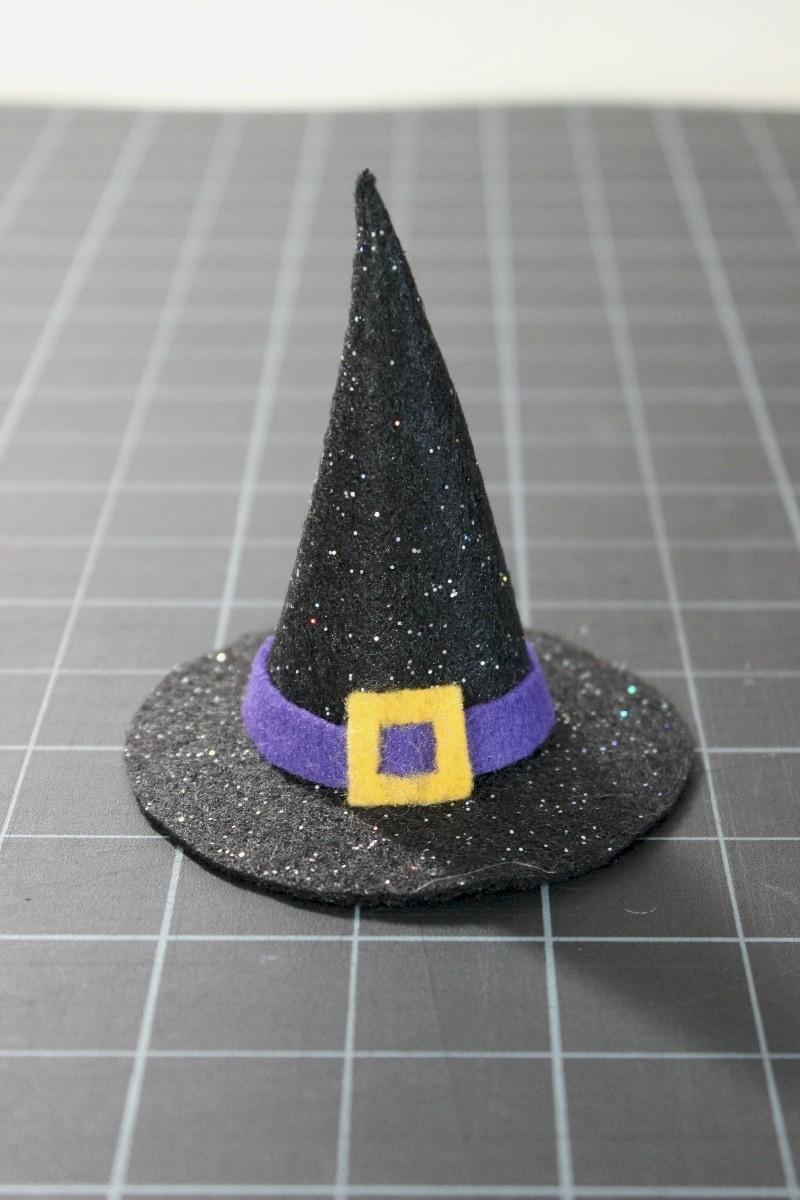 Making A Mini Felt Witch Hat Thriftyfun