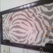 Decorative Jewelry Organizer