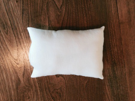stuffed pillow form