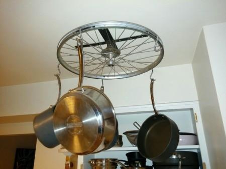 finished pot rack