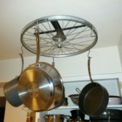 finished pot rack