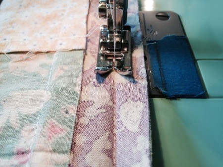 double stitching strips
