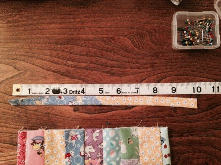 measuring length of handle