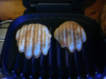 George Forman Grill to Make Bear Paws