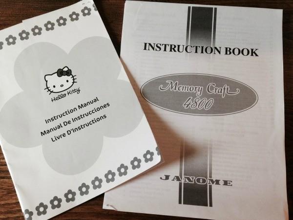 Finding Janome Sewing Machine Manuals ThriftyFun Inspiration Janome Hello Kitty Sewing Machine Instruction Manual