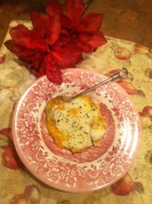 Congratulations Casserole - Casserole on a plate.