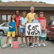 High School Fundraiser Carwash