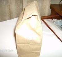 stuffed paper bag