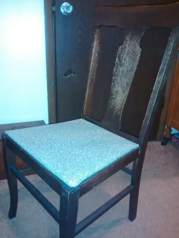 dark wood Murphy chair - Finding The Value Of Murphy Chairs ThriftyFun