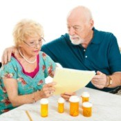Couple Reviewing Medicare Costs