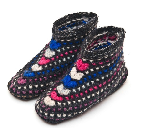 Free Knitted Slipper Patterns Thriftyfun