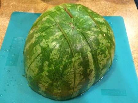 cut melon into slices 5