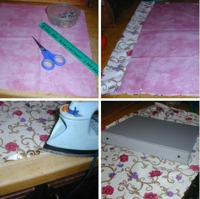 preparing fabric