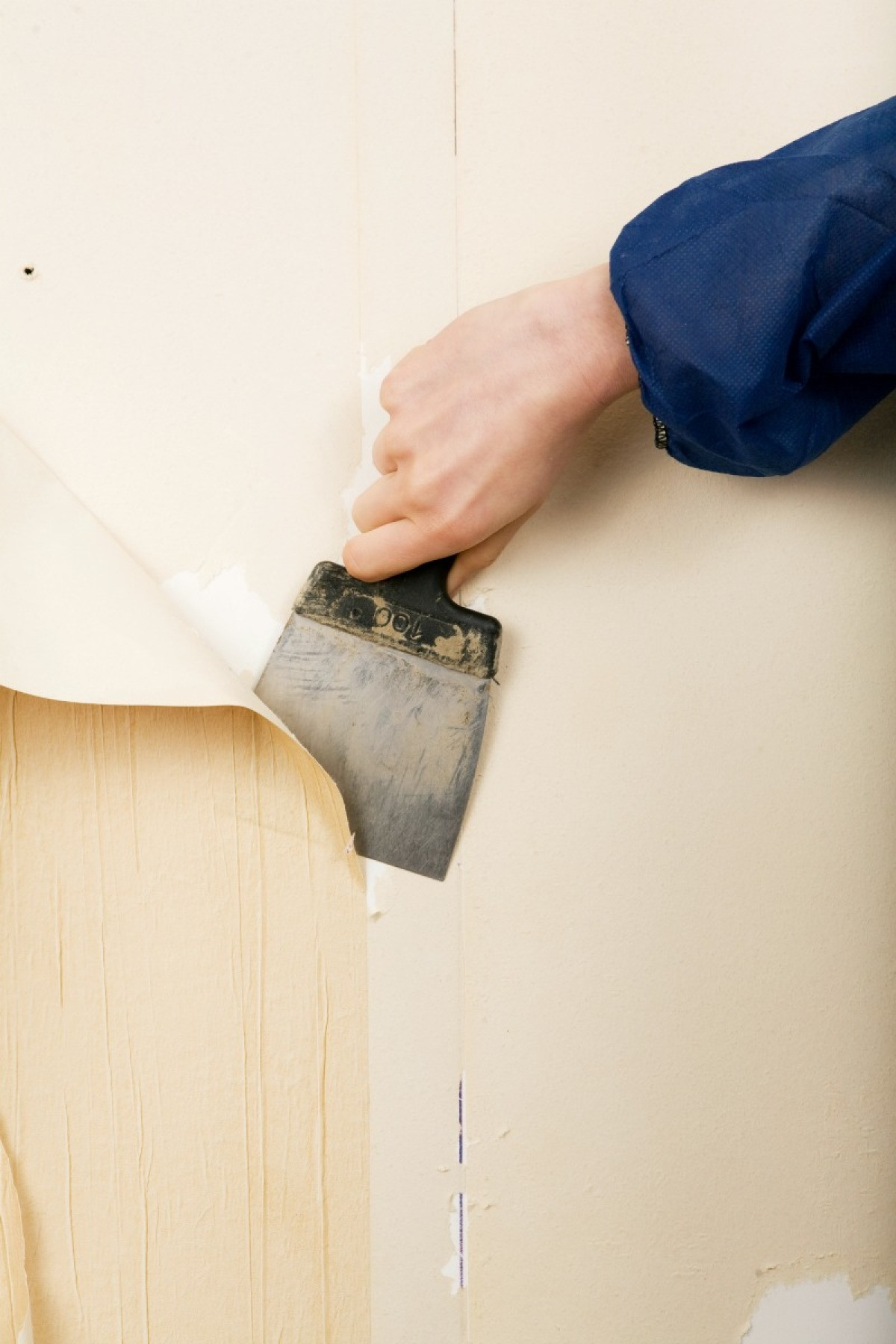 Removing Painted Wallpaper Glue
