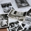 old black and white photos