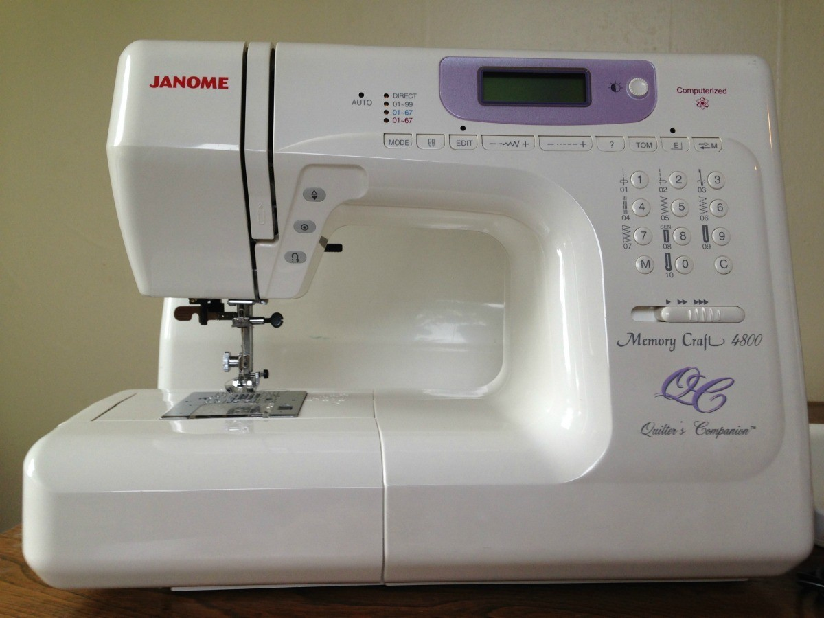 Repairing a Janome or New Home Sewing Machine | ThriftyFun on