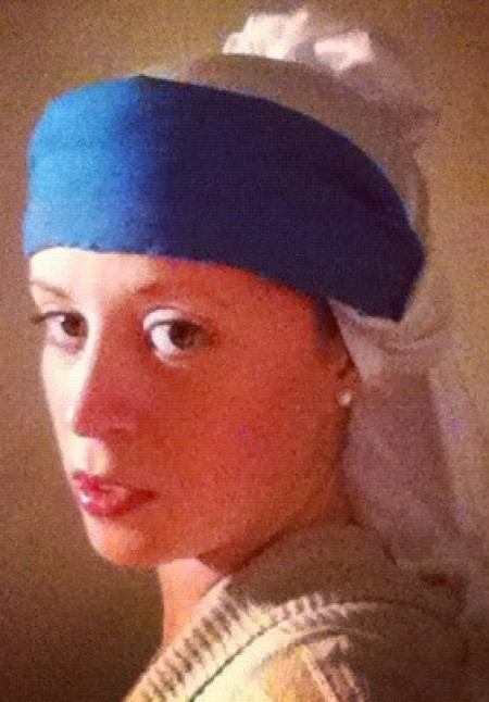 """Girl with a Pearl Earring"" Costume"