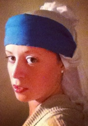 """""""Girl with a Pearl Earring"""" Costume"""