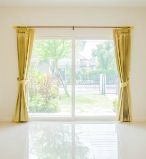 Yellowed Curtains