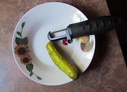 Peeling Pickles