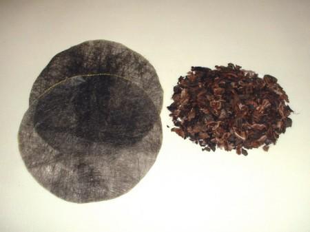 landscape cloth and shells