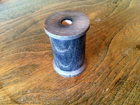 stained spool