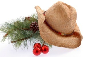 cowboy hat with decorations