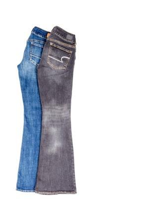 Faded Spots on Jeans