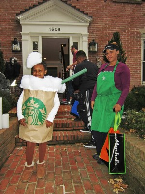 Starbuck's costumes