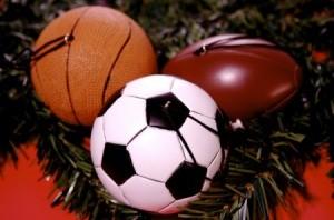 sports ball ornaments