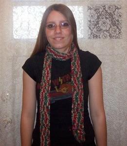 multicolor scarf