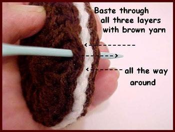Crochet Oreo Cookies