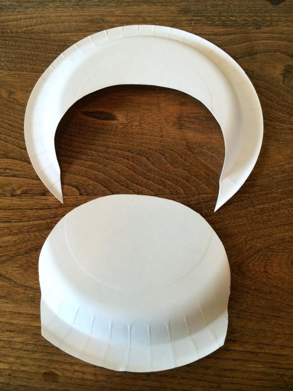 Making A Paper Plate Black Cat Thriftyfun