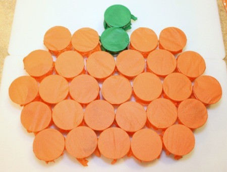 arrange pumpkin