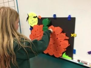 Playing Poke-A-Pumpkin 1