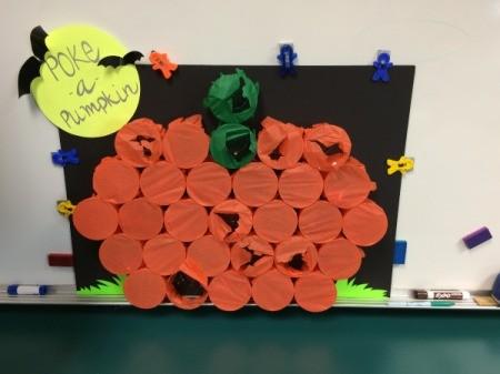 Playing Poke-A-Pumpkin 2