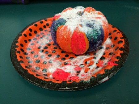 painted pumpkin 1