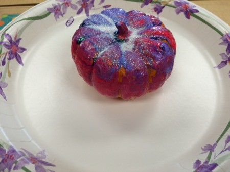 painted pumpkin 2