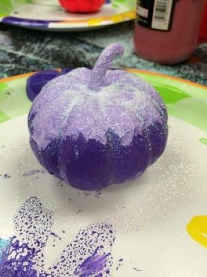 painted pumpkin 3